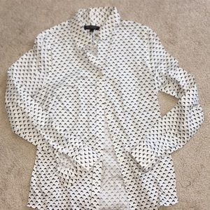 Banana Republic - non-iron fitted button down sz 8